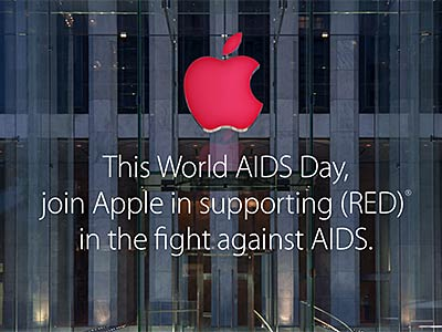 Apple's App Store Goes (RED) For World AIDS Day