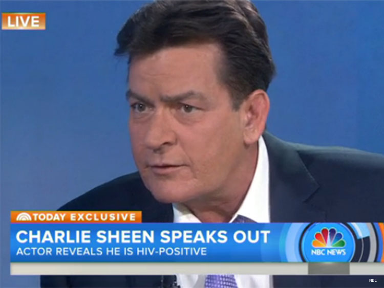 WATCH: Charlie Sheen Comes Out as HIV-Positive