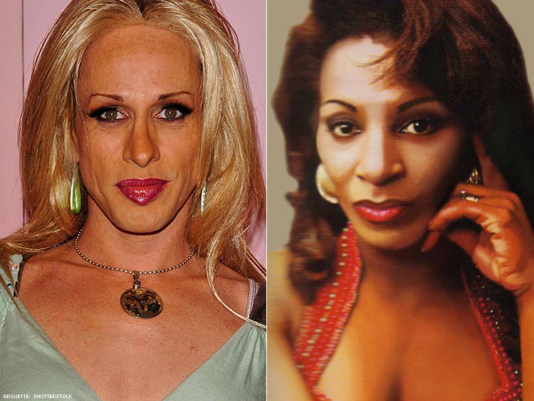 Alexis Arquette and Lady Chablis