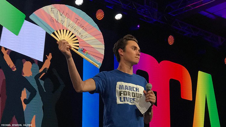 David Hogg Brings National Attention To HIV and Trans Murders