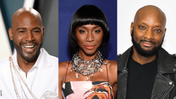 karamo brown, angelica ross, patrik ian-polk, all attractive black celebrities