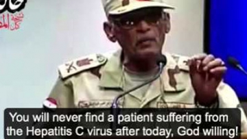 """Egypt's Ridiculous New """"Cure"""" for AIDS and Hep C"""