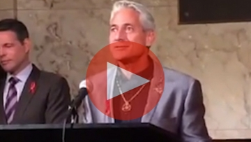 Watch: Greg Louganis and Mel England on Why World AIDS Day Is So Important