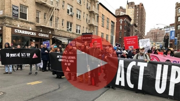 ACTUP Commemorates 30th Year with March, Rally, Memorial