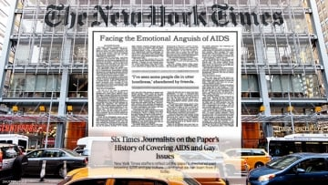 The New York Times Recalls Its Own Mistakes in Covering HIV