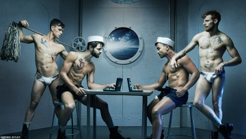 The Sexiest Men on Broadway Strip It Down for Broadway Bares