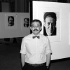 Jim Wigler in D.C. with the exhibition, coinciding with the National March on Washington for Lesbian and Gay Rights in 1987. Read about his photos below.