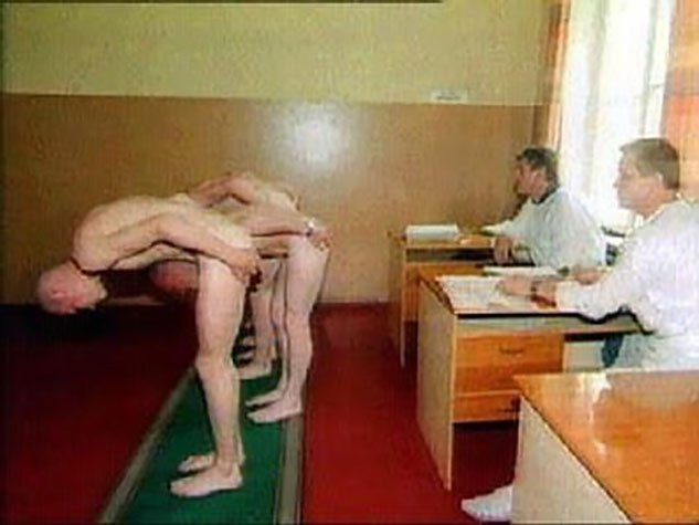 from Brixton male physical exam completely naked