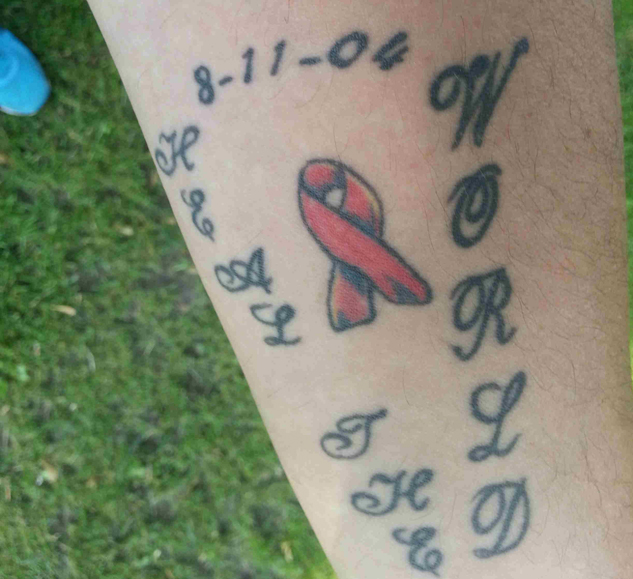 12 Hiv Positive Tattoos You Must See