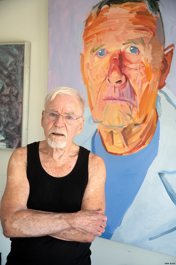 Famed Artist Don Bachardy on Men, Love, and the Impact of AIDS