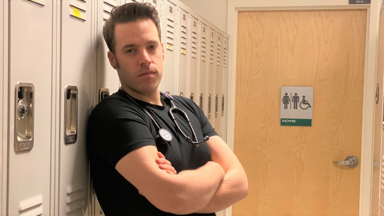 A Gay Nursing Student on the Frontlines Shares His Story