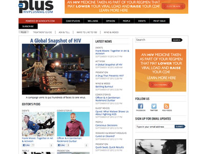 Unveiling The New HIVPlusMag.com