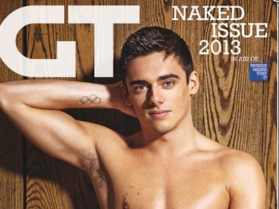 New Gay Times Issue: No Clothes, Lots of Charity