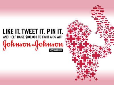 Johnson & Johnson Teams Up With (RED) to Fight AIDS