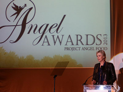 Jane Lynch, Dan Bucatinsky, and Lots of Hot Men at Angel Awards