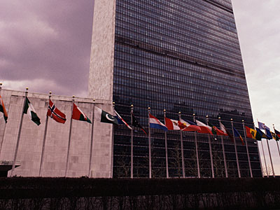Breaking: HIV Activists Are Shutting Down United Nations Traffic Right Now in Protest
