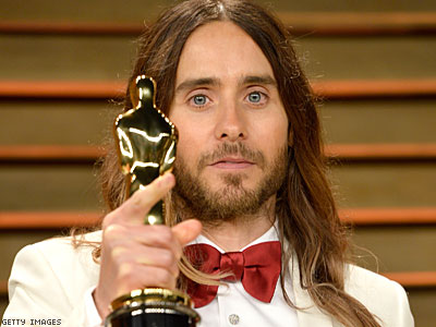 Jared Leto Dedicates HIV+ Oscar Win to People Fighting Injustice For Who They Love