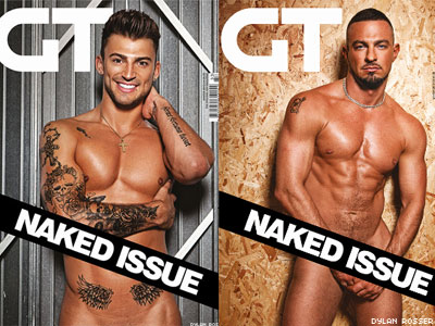 Britain Boys Bare All for National AIDS Trust