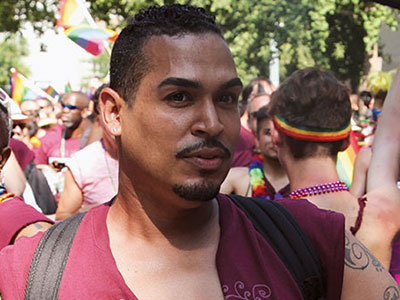 Amazing HIV+ Gay Men: Luna Luis Ortiz