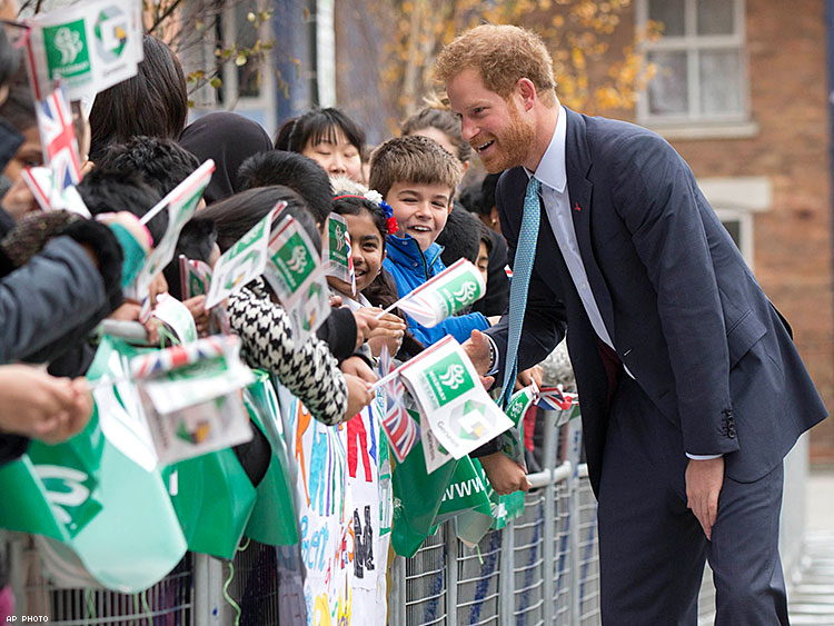 Prince Harry visits Mildmay Mission HIV Hospital that has been at the forefront of specialized HIV care since 1988 when it became the first dedicated hospice for people dying of AIDS related illnesses.