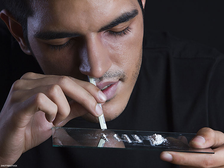 HIV positive patients are more likely to be rec drug users
