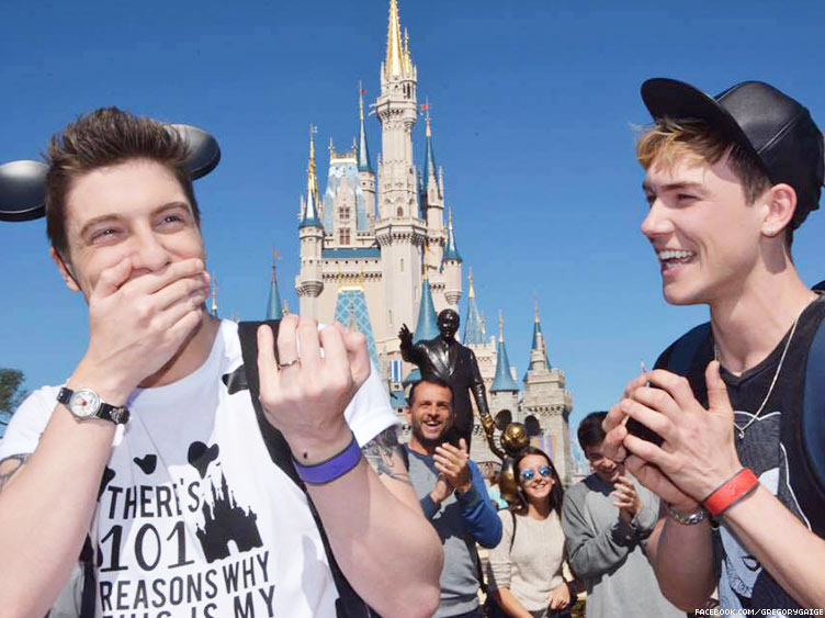 Gay Disney Proposal