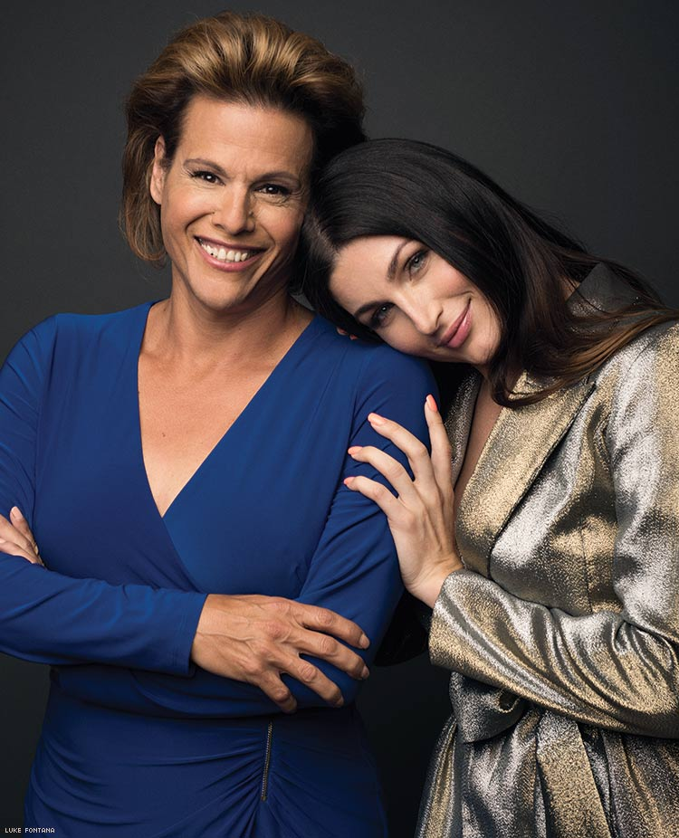 Alexandra Billings and Trace Lysette