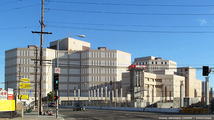LOS ANGELES MENS CENTRAL JAIL