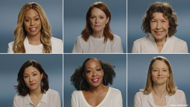 Laverne Cox, Lily Tomlin and Other Stars Urge Women To Vote