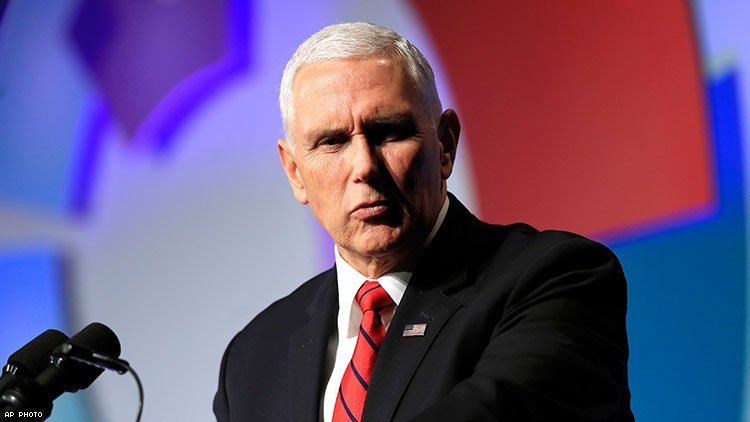 Mike Pence Refuses to Utter 'Gay' at World AIDS Day Event