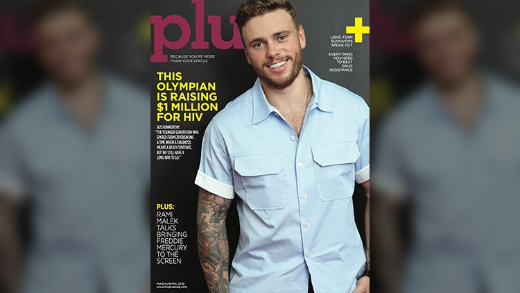 HIV Plus cover 129