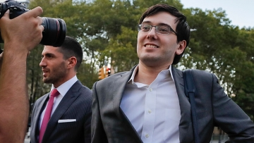 Martin Shkreli Ordered to Jail for Asking Followers to Yank Hillary Clinton's Hair
