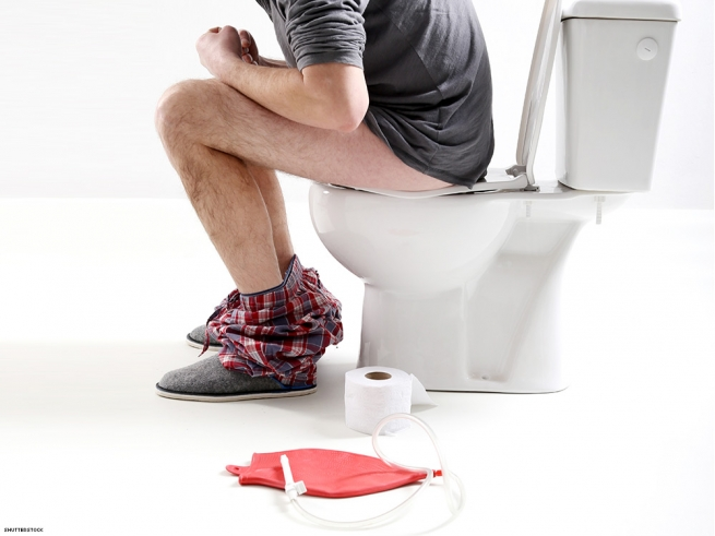 2. It's a good idea for the recipient to clean their butt beforehand. (Yes, this means douching.)