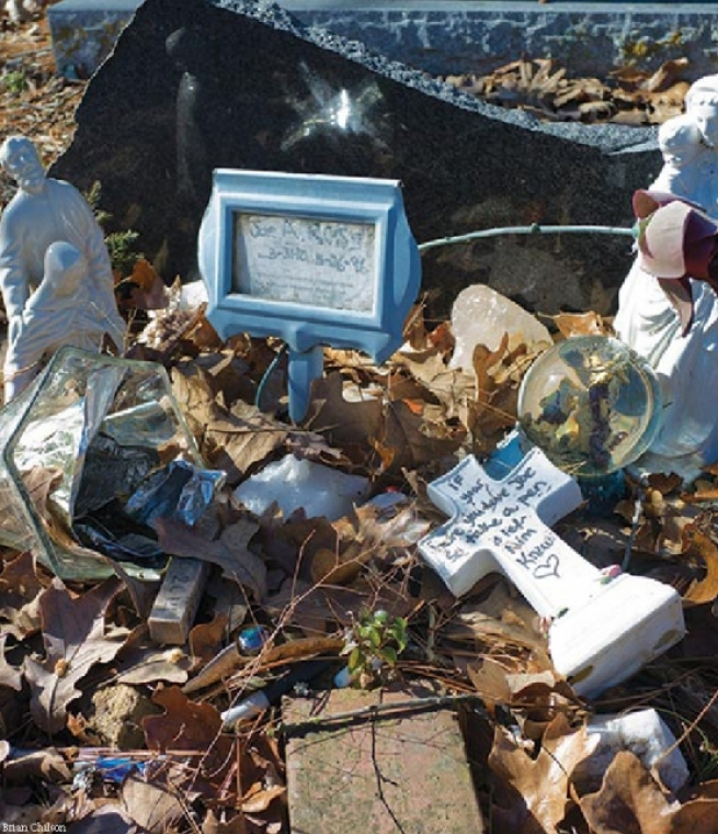 """""""I always wondered what I was going to do with a cemetery,"""" she said."""